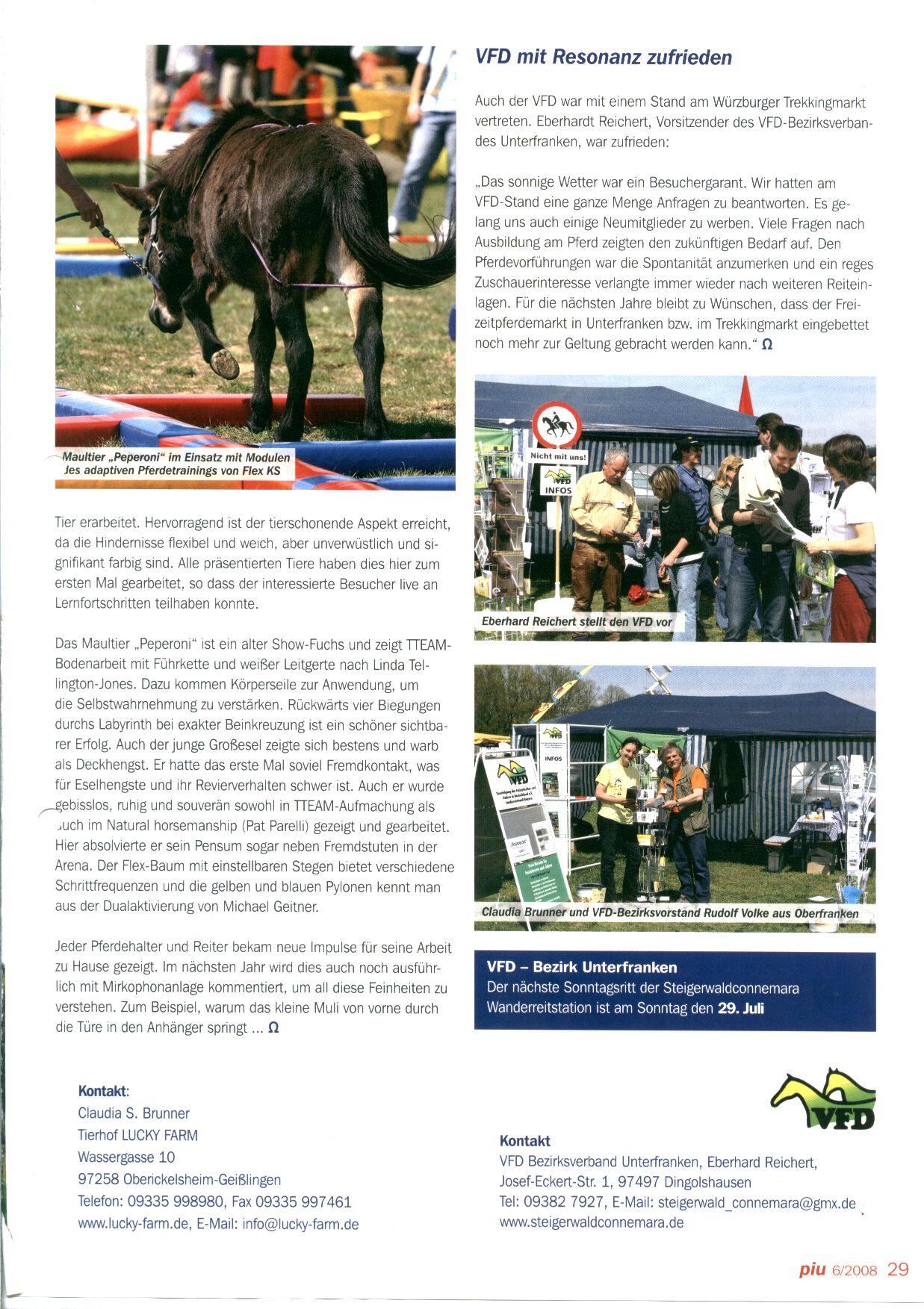 Tierhof LUCKY FARM - Presse